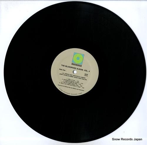 V/A the bluegrass album volume 4 ROUNDER0210 - disc