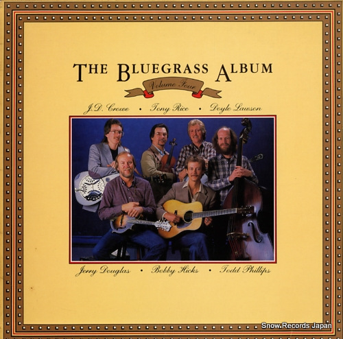 V/A the bluegrass album volume 4 ROUNDER0210 - front cover
