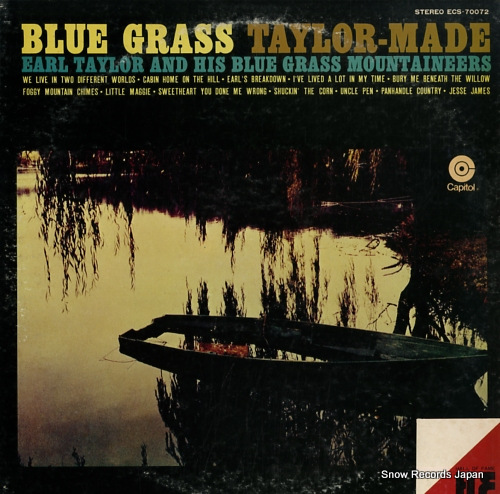 TAYLOR, EARL blue grass taylor-made ECS-70072 - front cover