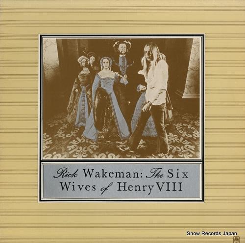 リック・ウェイクマン the six wives of henry viii SP-4361