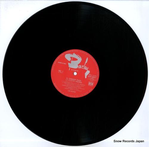 KOYAS, LOS el condor pasa / la flauta andina GXF-5007 - disc
