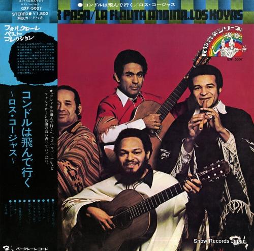 KOYAS, LOS el condor pasa / la flauta andina GXF-5007 - front cover