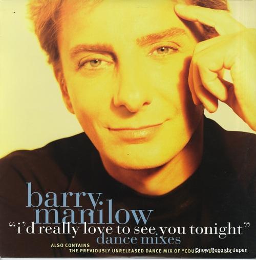 バリー・マニロウ i'd really love to see you tonight 07822-13379-1