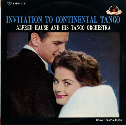 HAUSE, ALFRED invitation to continental tango LPPM-1141 - front cover
