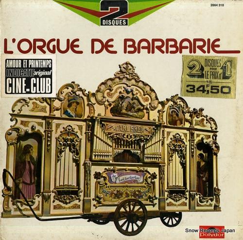 V/A orgue de barbarie 2664310