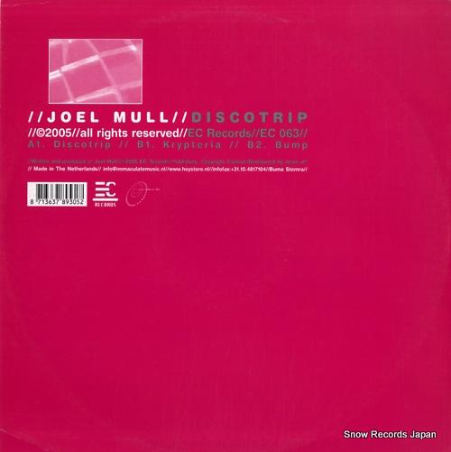 MULL, JOEL discotrip EC063 - back cover
