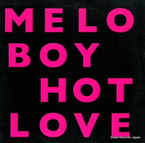 MELOBOY hot love 12NOMU143 - front cover
