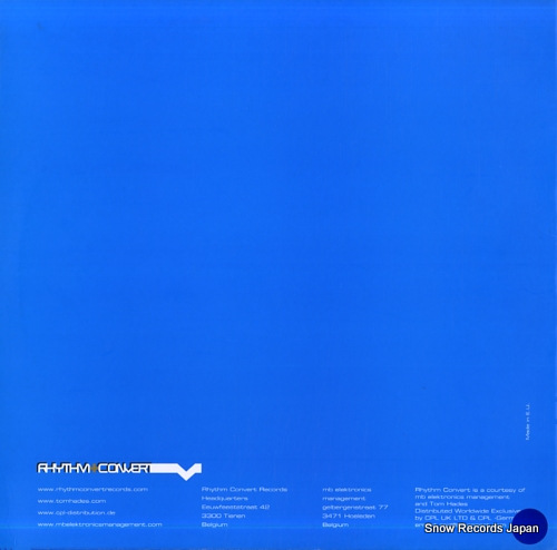 VEZTAX AND BECCO vakathx RC004 - back cover