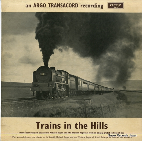 HANDFORD PETER - trains in the hills - LP
