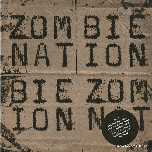 ZOMBIE NATION gizmode UKW008 - front cover