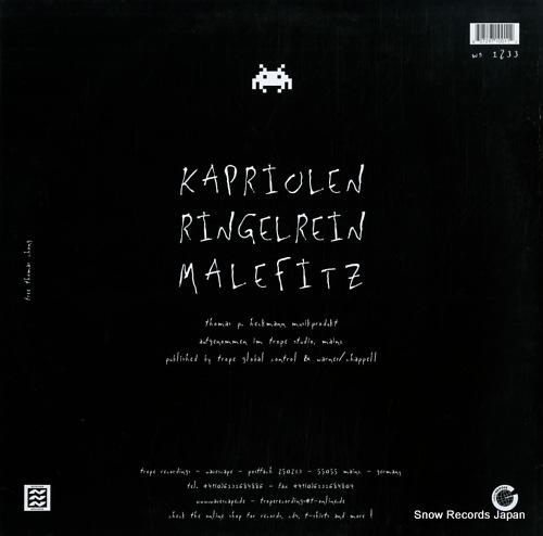 KNARZ kapriolen WS1233 - back cover