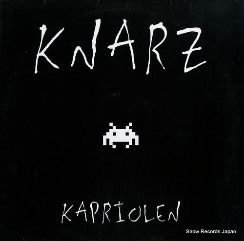 KNARZ kapriolen WS1233 - front cover