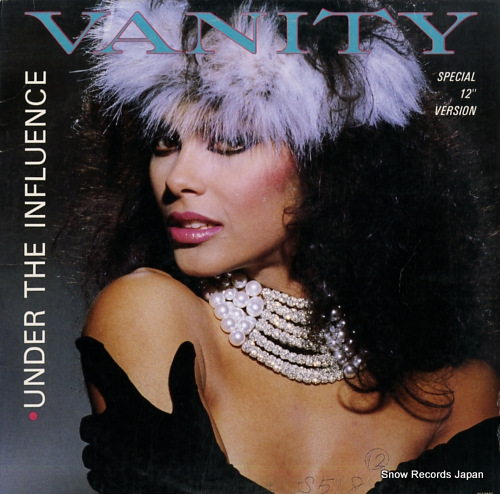 VANITY under the influence 4558MG - front cover