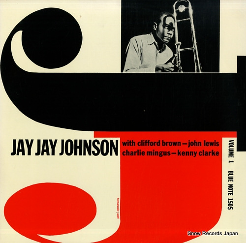 JOHNSON, JAY JAY the eminent volume 1 GXK8032(M) - front cover