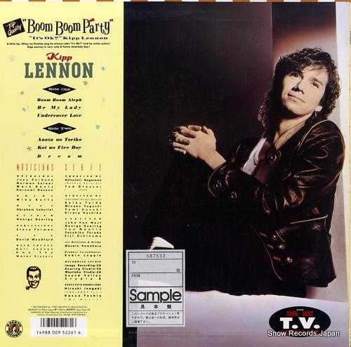 LENNON, KIPP boom boom party 20AP3296 - back cover