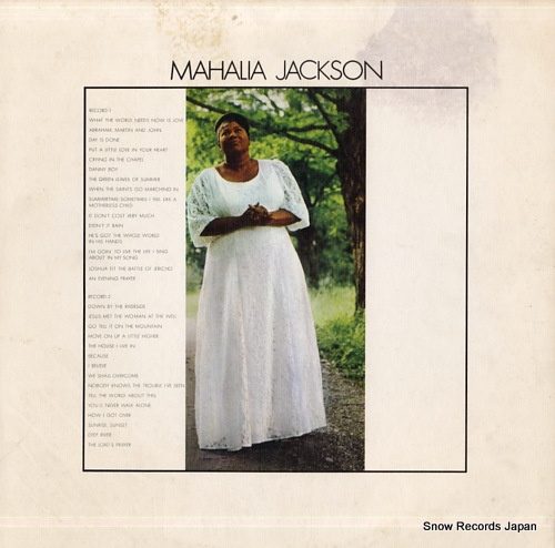 JACKSON, MAHALIA mahalia jackson 40AP491-2 - back cover