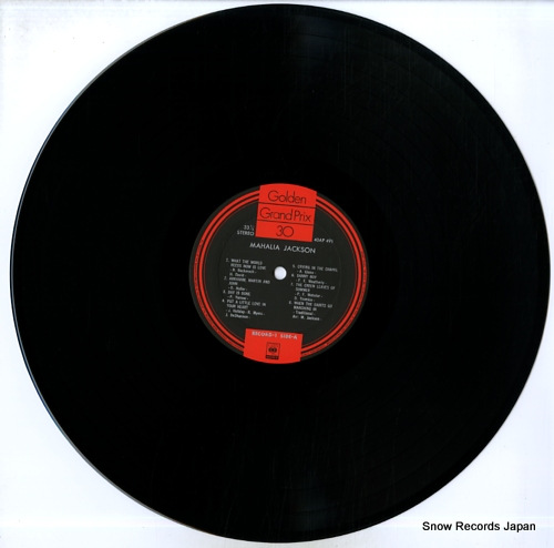 JACKSON, MAHALIA mahalia jackson 40AP491-2 - disc