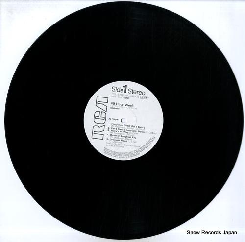 ALABAMA 40 hour week RPL-8288 - disc