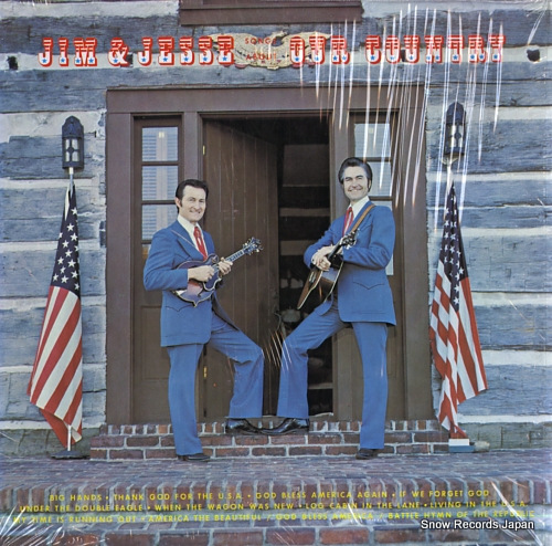 JIM AND JESSE AND THE VIRGINIA BOYS songs about our country OD-498-08 - front cover