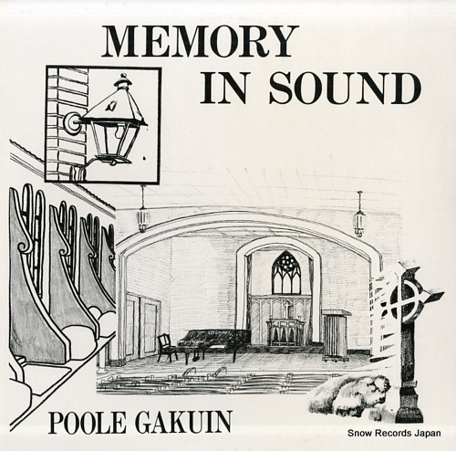POOLE GAKUIN memory in sound A-17037 - front cover