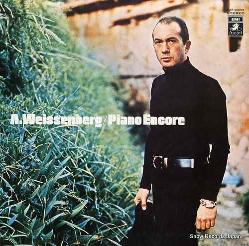 WEISSENBERG, ALEXIS piano encore EAA-80005 - front cover