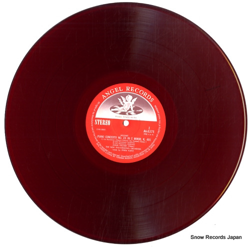 FISCHER, ANNIE mozart; piano concerto no.24 in c minor, k.491 AA-8375 - disc