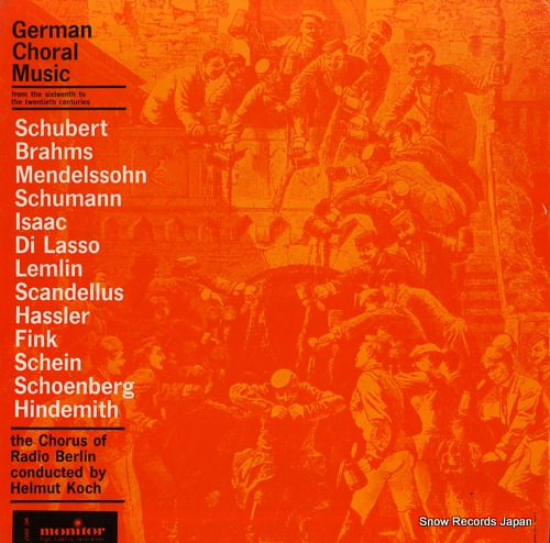 KOCH, HELMUT german choral music: from the 16th to the 20th centuries MC2047 - front cover