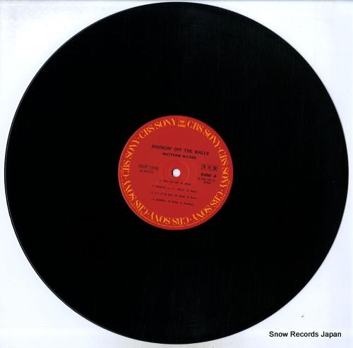 WILDER, MATTHEW bouncin' off the walls 28AP2956 - disc