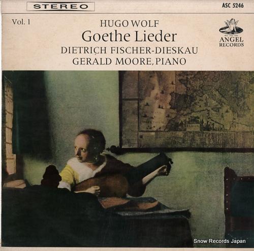 FISCHER-DIESKAU, DIETRICH wolf; goethe lieder vol.1 ASC5246 - front cover