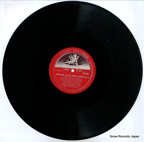 FISCHER-DIESKAU, DIETRICH schubert; heine songs HA1005 - disc