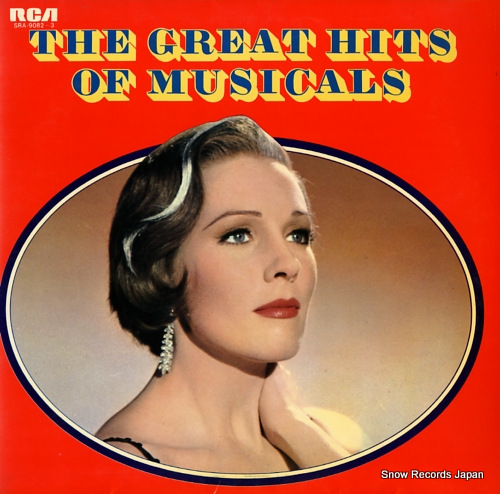 V/A the great hits of musicals SRA-9082-3 - front cover