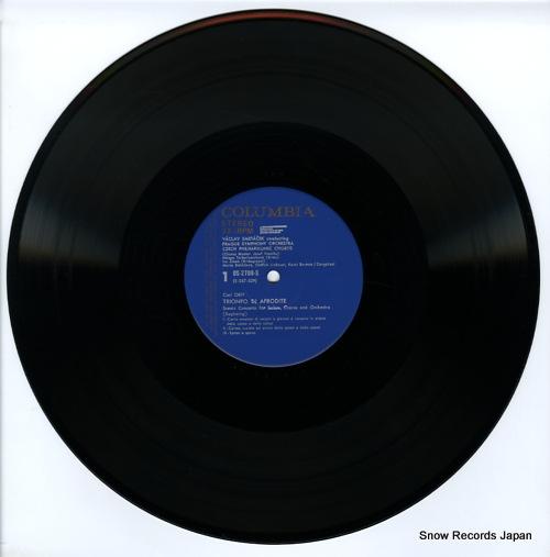 SMETACEK, VACLAV orff; trionfo di afrodite OS-2708-S - disc