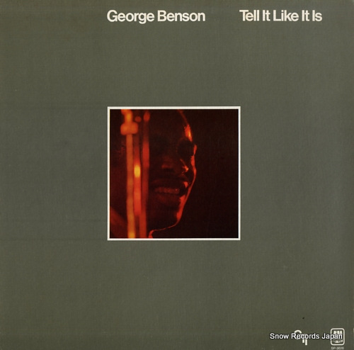 BENSON, GEORGE tell it like it is SP-3020 - front cover