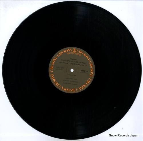 STERN, ISAAC brahms; violin concerto 25AC678 - disc