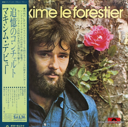LE FORESTIER, MAXIME maxime le forestier MP2488 - front cover