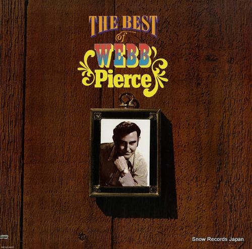 PIERCE, WEBB the best of webb pierce MCA2-4087 - front cover