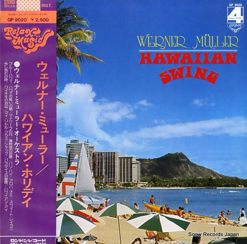 MULLER, WERNER hawaiian swing GP9020 - front cover