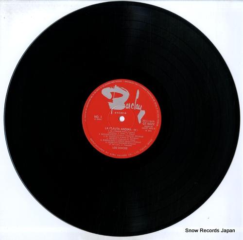 LOS CHACOS la flauta andina (4) GT-5022 - disc