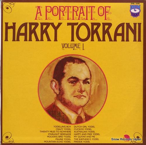 TORRANI, HARRY a portrait of harry torrani volume 1 EMB-10400 - front cover