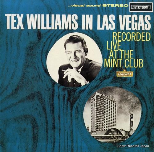 WILLIAMS, TEX tex williams in las vegas HAT3105 - front cover