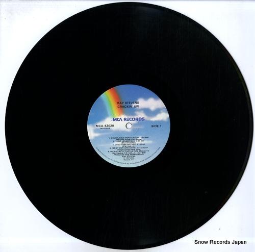 STEVENS, RAY crackin' up MCA-42020 - disc