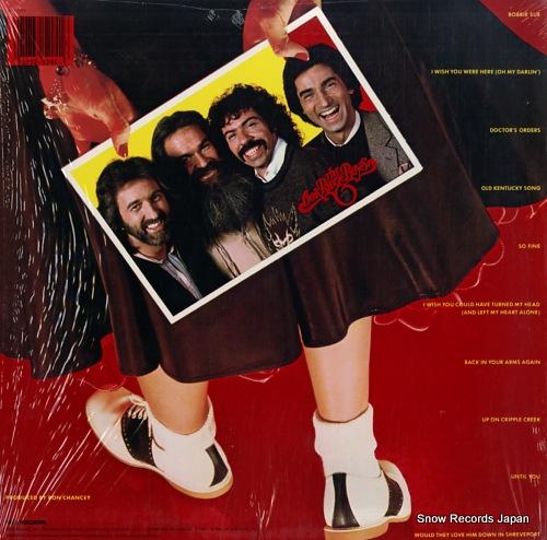 OAK RIDGE BOYS, THE bobbie sue MCA-5294 - back cover