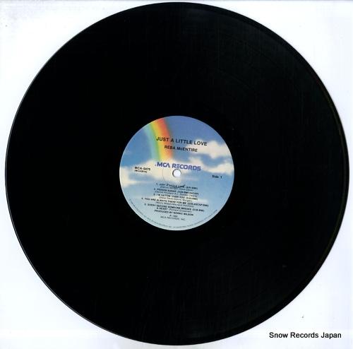 MCENTIRE, REBA just a little love MCA-5475 - disc