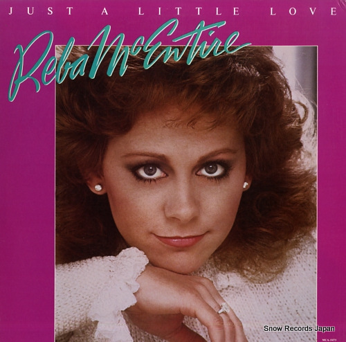 MCENTIRE, REBA just a little love MCA-5475 - front cover
