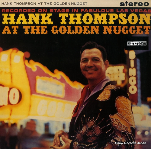 THOMPSON, HANK hank thompson at the golden nugget HAT3076 - front cover