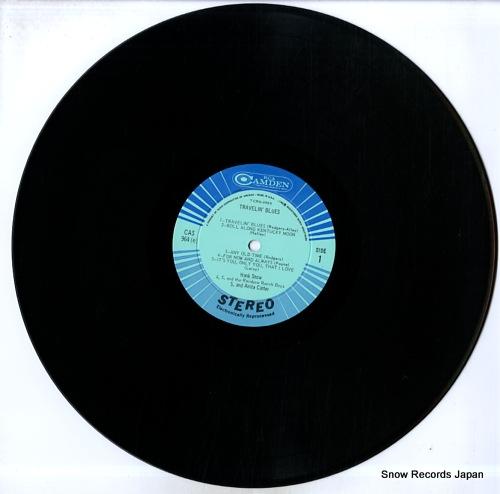 SNOW, HANK travelin' blues CAS964(E) - disc