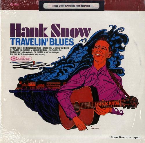 SNOW, HANK travelin' blues CAS964(E) - front cover