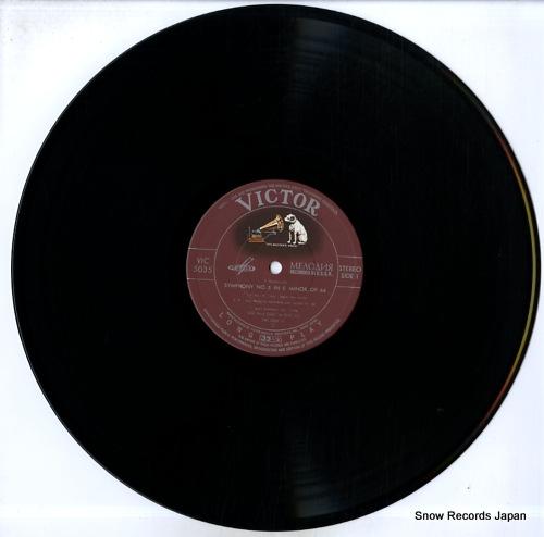 SVETLSNOV, EVGENI tchaikovsky; symphony no.5 VIC-5035 - disc