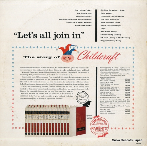 V/A let's all join in CLP-1208 - back cover