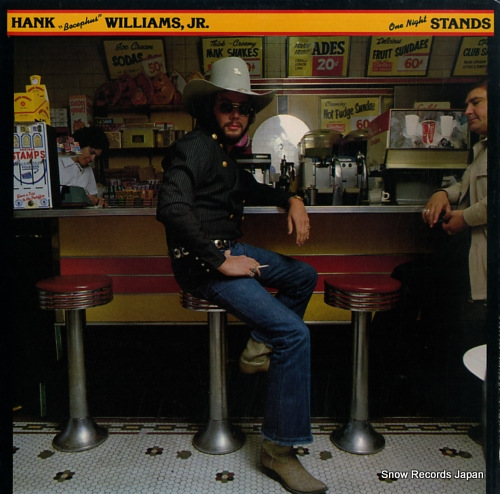 WILLIAMS, HANK, JR. one night stands BS2988 - front cover